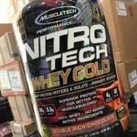 Muscletech nitrotech whey gold isolate 5.5 lb lbs nitro tech whey gold