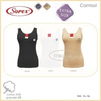 Tank top Camisol Singlet Kaos Dalam Wanita Besar Sorex 0101 XL/ XXL