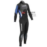 Long Wetsuit Neoprene Cressi Morea / Baju Selam Cressi 3mm