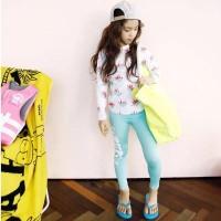 Baju Renang Anak Perempuan Girl Pastel Blue / Diving / Swimsuit