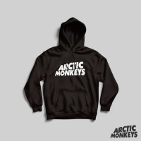 Hoodie Arctic Monkey - Logo White Small