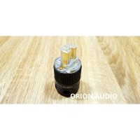 Power plug C14(IEC) gold plated cryo by Orion Audio