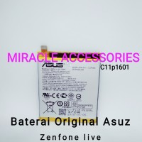 Baterai Original Asuz Zenfone Live°A007°Zb501°KI°C11p1601°Battery