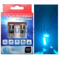 Autovision Microzen LED T10 W5W 4.5W Canbus Biru Ice Blue Lampu Senja