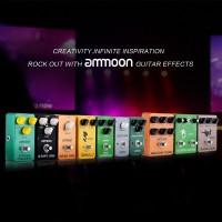 [Bayar Di Tempat]AMMOON AP-12 Pedal Efek Gitar Elektrik True Bypass