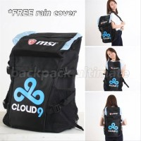 SALE Tas Gaming Bag Backpack Ultimate Cloud 9 MSI SXza18540