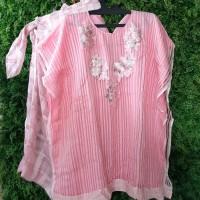 Baju Pesta Wanita 1 set dengan bawahan (warna bright pink)