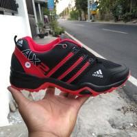 Obral+ Promo +Cuci Gudang+ Sepatu Sport +adidas+ AX2 Hitam merah