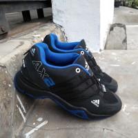 Obral+ Promo +Cuci Gudang+ Sepatu Sport +adidas+ AX2 Hitam biru