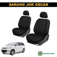 Sarung Jok Untuk Mobil Avanza 2011 NON ARB Bahan Oscar Warna Hitam