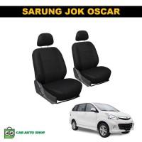 Sarung Jok Untuk Mobil Avanza 2014 Air Bag Bahan Oscar Warna Hitam