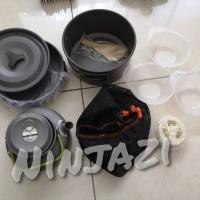 DS 308 - Alat masak camping - cooking set