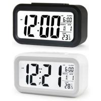 JAM WEKER kamar tidur LCD Digital Clock with Alarm Temperatur sensor