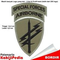 Patch bordir emblem bordir badge Special Forces hm5