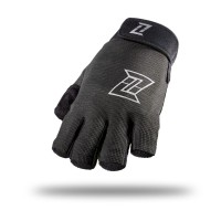 ZOLEKA Niaz Sarung Tangan Motor Half Finger - Dark Grey Black