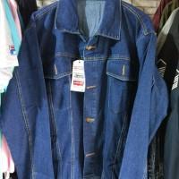 Jaket Jeans Levis Jumbo Biru Tua Size XXL (2XL) - XXXL (3XL)
