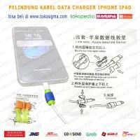 Pelindung Kabel USB Lightning iphone ipad Saver Cable Protector Savior
