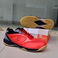 Sepatu Badminton PHOENIX Red Black Sepatu olahraga Pria