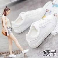 sepatu sneaker kets wanita sports putih trend ready no 36 37 38 39 40