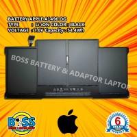 Baterai 100% Original Apple A1496 A1466 Macbook Air 13 Late 2013