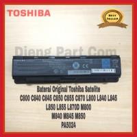 Baterai Original Laptop Toshiba Satellite C800 C840 L840 L800 C800
