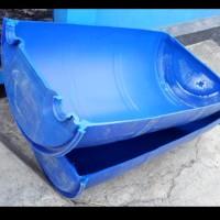baskom bak jumbo dari bahan drum plastik hdpe tebal serbaguna kap.100L