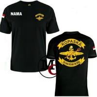 T-shirt Kaos Baju Kopaska Gratis Nama - MUTIARA COSTUM