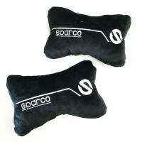 Bantal Mobil Tulang Car Headrest Pillow SPC Black