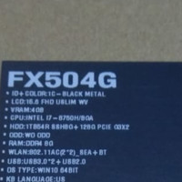 Asus tuff Fx504g