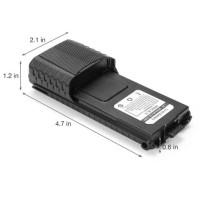 Baterai HT UV-5R 3800mAh Asli Kapasitas Besar Baofeng Verxion UV5R UV5