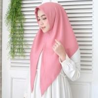 Jilbab Instan Segi Tiga SEGITIGA INSTAN KHIMAR KERUDUNG INSTAN MURAH