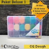 CG Dough Paket Deluxe 18 / paket playdoh / paket playdough