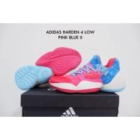 Sepatu Basket Adidas Harden 4 Low Pink Blue 2