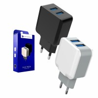 Cennotech 2 USB Port Charger ELECTRON / Kepala Charger