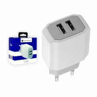 Cennotech 2 USB Port Charger FLASH / Kepala Charger