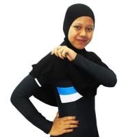 Kerudung Besar Untuk Baju Renang Muslim Dengan Karet Tangan KRD02