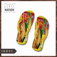 [PRIA] Indomie Instan Sendal jepit laki cowok sandal murah flip flop