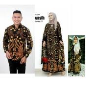 Couple Batik Gamis Cape Set Gamis Anak Cewek Baju Batik Keluarga