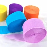 Kertas Krep Roll/Paper Streamer/Kertas Krep Dekorasi