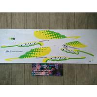 Lis Striping Sticker Mio Sporty - Bubble Putih Hijau