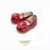 Sepatu Bayi Flat Prewalker Tamagoo - Flo Series Murah - Hitam, 2