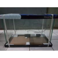 (Hanya GO-JEK/GRAB) AQUARIUM GEX GLASSTERIOR 600 UK. 60X30X40 CM