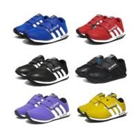 Sepatu Anak Adidas Size 24 - 37 Keren Merah Pink Biru Hitam Cewek Cowo