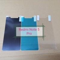 Anti Gores Screen Guard SPY Glare Clear Xiaomi Redmi Note 5 Pro