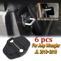 Door Lock. Cover Kunci Pintu untuk Jeep Wrangler JL 18-19