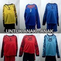 Setelan Baju/Kaos Sepak Bola/Futsal Team/Tim Premium Anak Keeper/Kiper