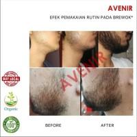 BEST SELLER Avenir Beard Oil + (Minoxidil & Vit E). Penumbuh brewok