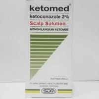 BEST SELLER Ketomed Scalp Solution Shampoo Anti DHT dan Anti Ketombe