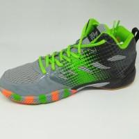 Hot Produk Sepatu Olahraga Specs Original Quicker Mid Granite/Green