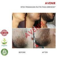 HOT SALE Avenir Beard Oil + (Minoxidil & Vit E). Penumbuh brewok